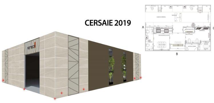 azteca en Cersaie 2019