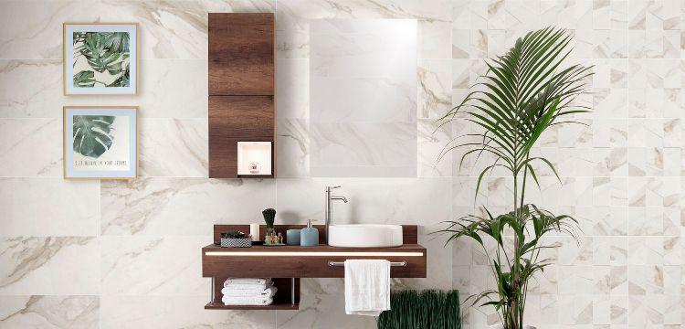 cerámica tonos claros elegante