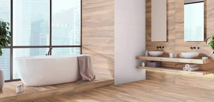 cerámica imitación madera