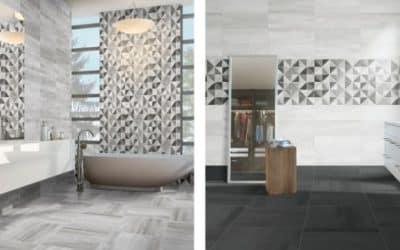 Crea un baño de diseño con las últimas tendencias cerámicas