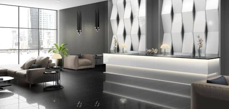 diseñar hoteles con ceramica