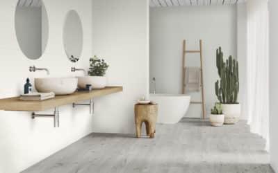 Cerámica efecto madera y piedra para conseguir un estilo natural en tu casa